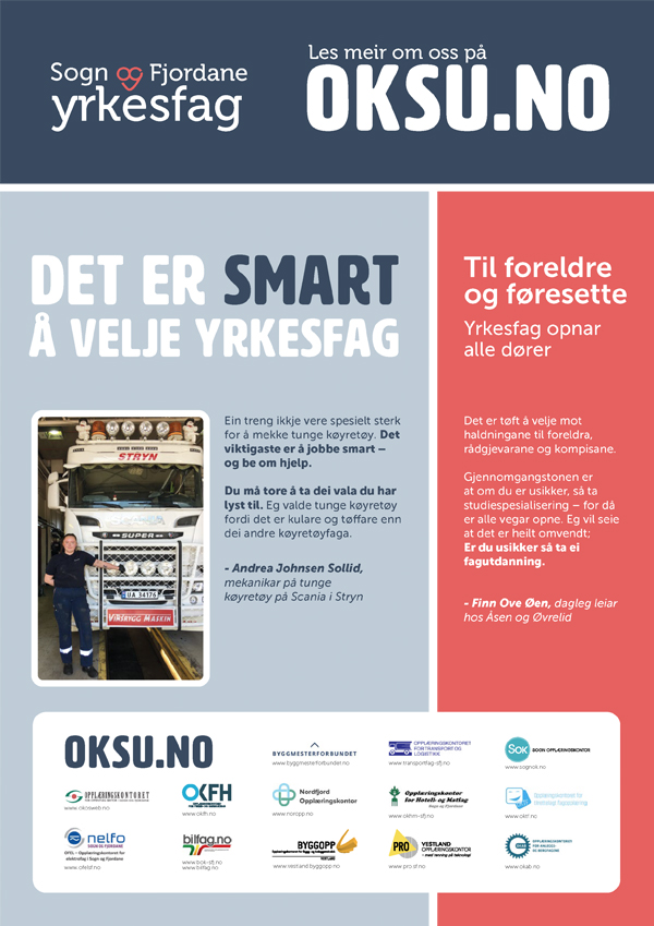 Sogn og Fjordane yrkesfag - oksu.no - nyheitsbrev 2020